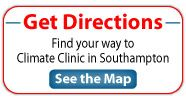 Find your way to Climate Clinic in Southampton